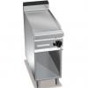 Гриль-сковорода газовая, 1 зона, поверхность гладкая стальная, стенд полузакрытый без двери, магистральный газ