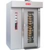 Печь электрическая конвекционно-ротационная, 1 тележка 18х(650х450мм), управление электромех., корпус нерж.сталь, увлажение, попер.загрузка, зонт