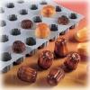 Эластомуль МИНИ-Борделе с желобками D 3,5см h 3,5см (1 лист L 30см w