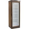 Шкаф холодильный для вина,  90бут., 1 дверь стекло, 5 полок, ножки, +2/+8С, стат.охл., дерево
