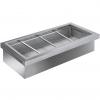 Ванна холодильная, встраив., 4GN1/1, +2/+7С, кромка, б/агрегата