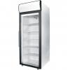 Шкаф холодильный д/икры,  700л, 1 дверь стекло, 4 полки, ножки, -8/0С, дин.охл., белый, канапе