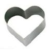 Кольцо (форма) СЕРДЦЕ D 3,25см h 2см, нерж.сталь