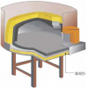 Основание усиленное для печи дровяной VZ F5