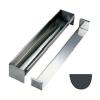 Разделитель для округленного желоба  w 8см h 6см, нерж.сталь