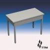 SR-080/6 - стол рабочий усиленный, без борта, без полки