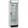 Шкаф холодильный д/напитков, 372л, 1 дверь стекло, 5 полок, ножки+колеса, +2/+10С, стат.охл.+вент., белый, канапе