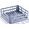 Корзина посудомоечная для стаканов, 350х350мм, пластик серый