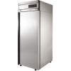 Шкаф холодильный,  500л, 1 дверь глухая, 4 полки, ножки, 0/+6С, дин.охл., нерж.сталь