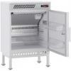 Шкаф холодильный медицинский,   95л, 1 дверь глухая, 2 полки, ножки, +2/+15С, дин.охл., белый, морское исполнение