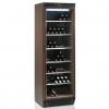 Шкаф холодильный д/вина, 118бут. (372л), 1 дверь стекло, 6 полок, ножки+колеса, +6/+18С, стат.охл., коричневый