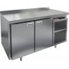Стол холодильный, GN1/1, L1.39м, борт H50мм, 2 двери глухие, ножки, -2/+10С, нерж.сталь, дин.охл., агрегат справа