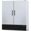 Шкаф комбинированный, 1600л, 2 двери глухие, 8 полок, ножки, 0/+8С и -18С, дин.охл., белый, агрегат нижний
