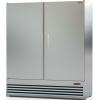Шкаф комбинированный, 1600л, 2 двери глухие, 8 полок, ножки, 0/+8С и -6/+6С, дин.охл., нерж.сталь, агрегат нижний