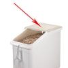 Крышка задняя запасная для IBS27-148 контейнера для сыпучих продуктов