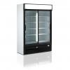 Шкаф холодильный д/напитков, 937л, 2 двери стекло, 10 полок, ножки, +2/+12С, дин.охл., белый, канапе
