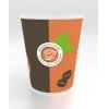Стакан для горяч. напитков Coffee-to-Go 300мл бумага, 1000шт