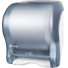 Диспенсер для рул.полотенец настенный сенсорный 367х298х232мм пластик, голубой