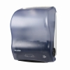 Диспенсер для рул.полотенец настенный ручн.вытяжка 419х298х235мм пластик, голубой