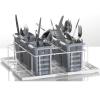 Корзина посудомоечная д/столовых приборов, 400х400мм (размер S), проволока, вместимость 6 стаканов, д/UC-S