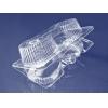 Контейнер для пирожных 2 ячейки ПС прозрачный, 600шт
