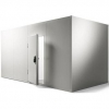 Камера холодильная замковая,   5.10м3, h2.16м, 1 дверь расп.левая, ППУ80мм, б/пола