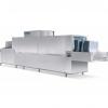 Машина посудомоечная конвейерная, д/корзин и инвентаря, 710х450мм, 1.40-2.15м/мин, правая, гор.вода, 2 части