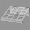 Подставка для соусов из прозрачного пластика