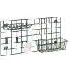 Комплект аксессуаров для настенной решётки WG: 1 корзина, 2 держателя, 8 крючков, стакан, покрытие Metroseal3-Microban