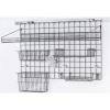 Система хранения настенная: 1 решётка, 2 полки-решётки, 2 корзины, стакан, 2 крючка, 2 держателя, кронштейны, покрытие Metroseal3-Microban